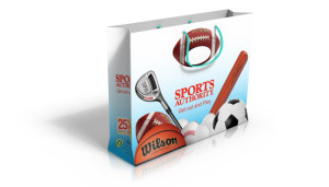 Sports Authority hand bag