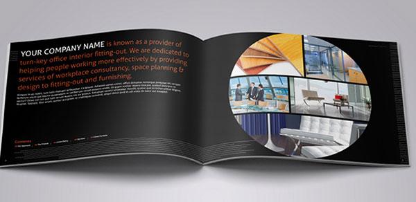 Interior design brochure template 3 freelancing for Carter wells interior design agency